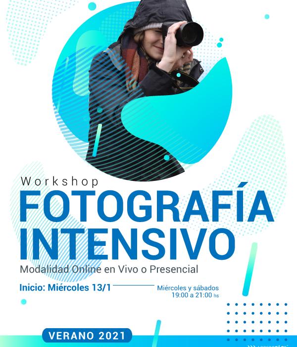 Workshop de Fotografía intensivo – VERANO 2021